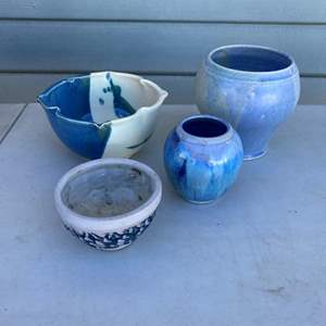 Auction Thumbnail for: Lot # 64 - STONEWARE ITEMS