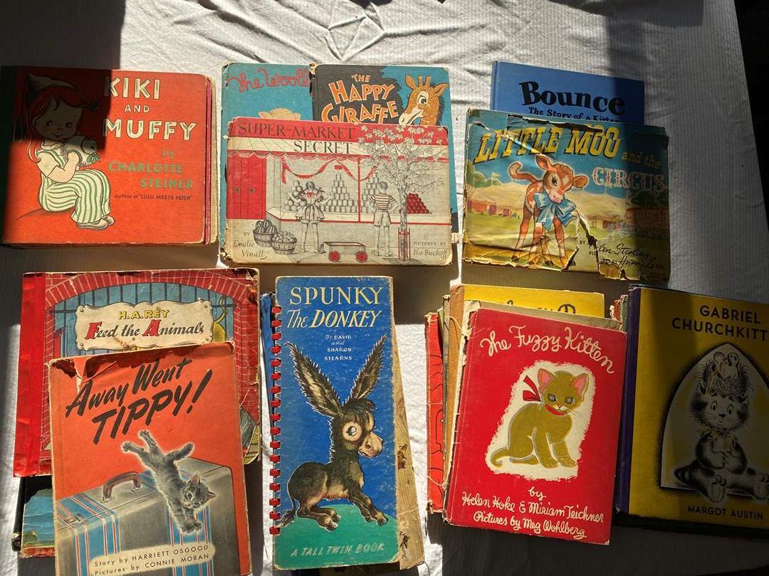 Lot # 97 - VINTAGE CHILDREN'S BOOKS (main image)