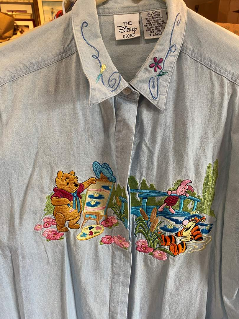 Lot # 71 - 4 Disney Embroidered Shirts (main image)