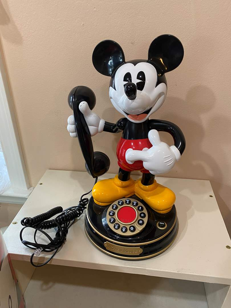 Lot # 74 - Mickey Mouse Phone  (main image)