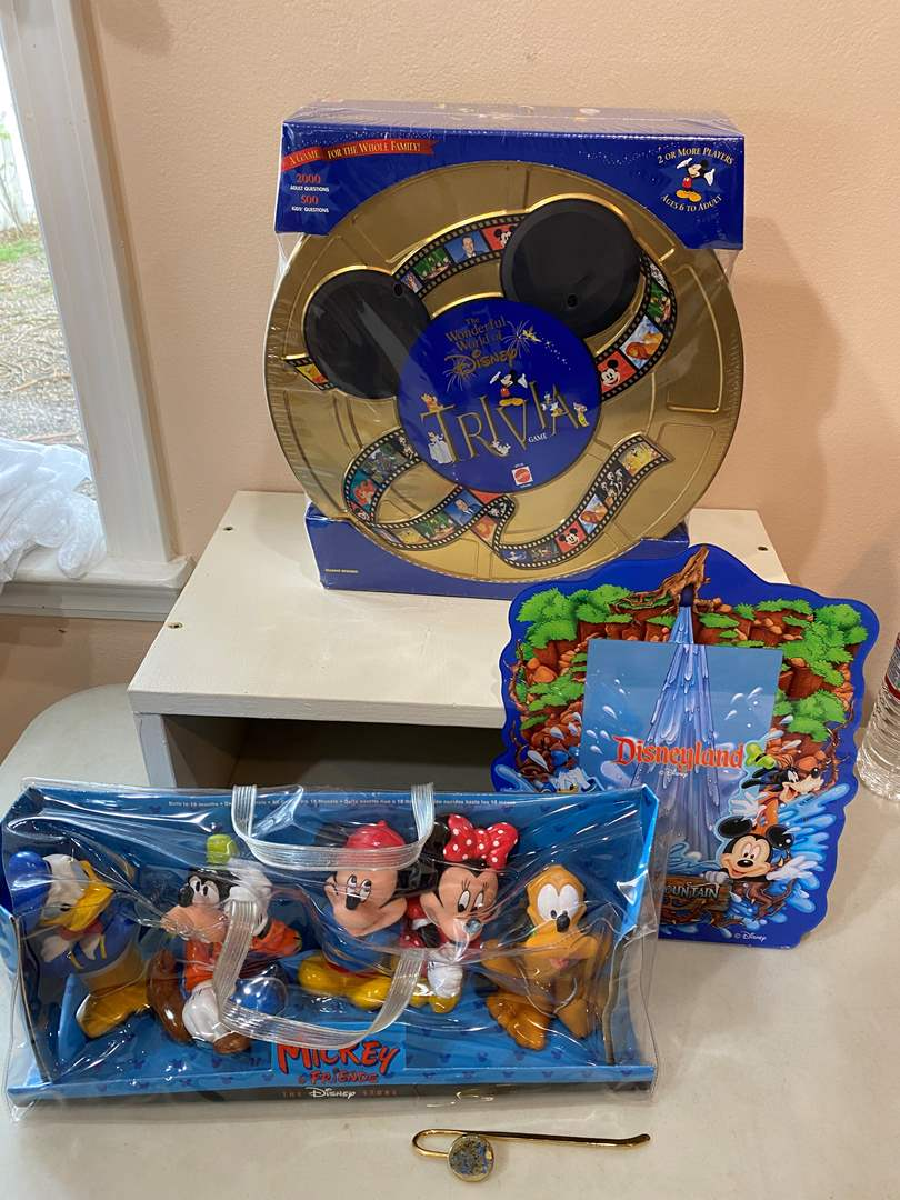 Lot # 75 - Disney Trivia (unopened) & other items (main image)