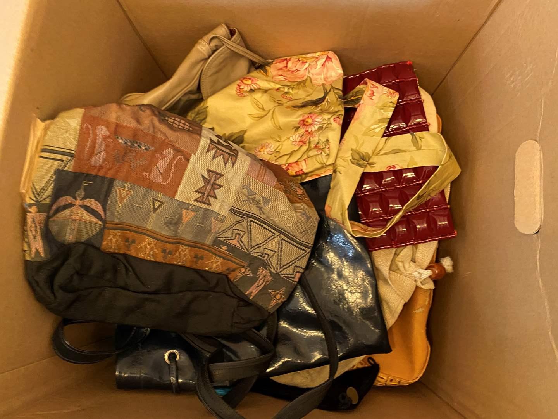 Lot # 79 - Large Box Full of Purses (main image)