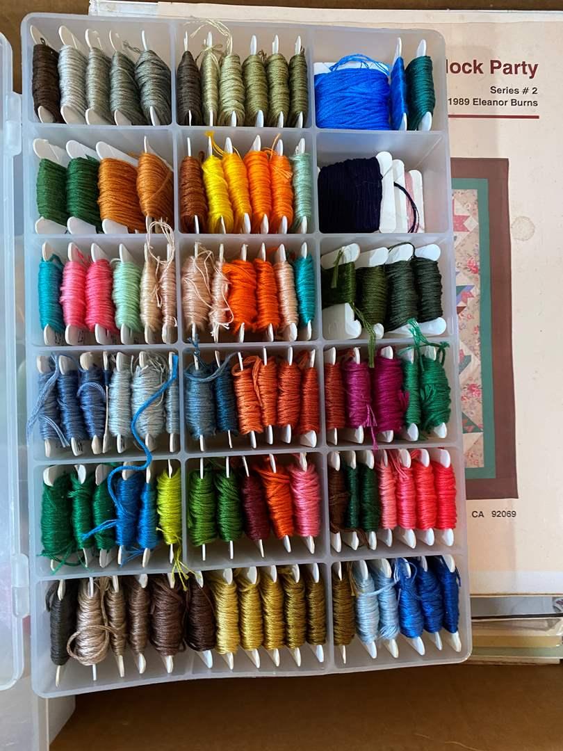 Lot # 82 - Needlepoint Supplies (main image)