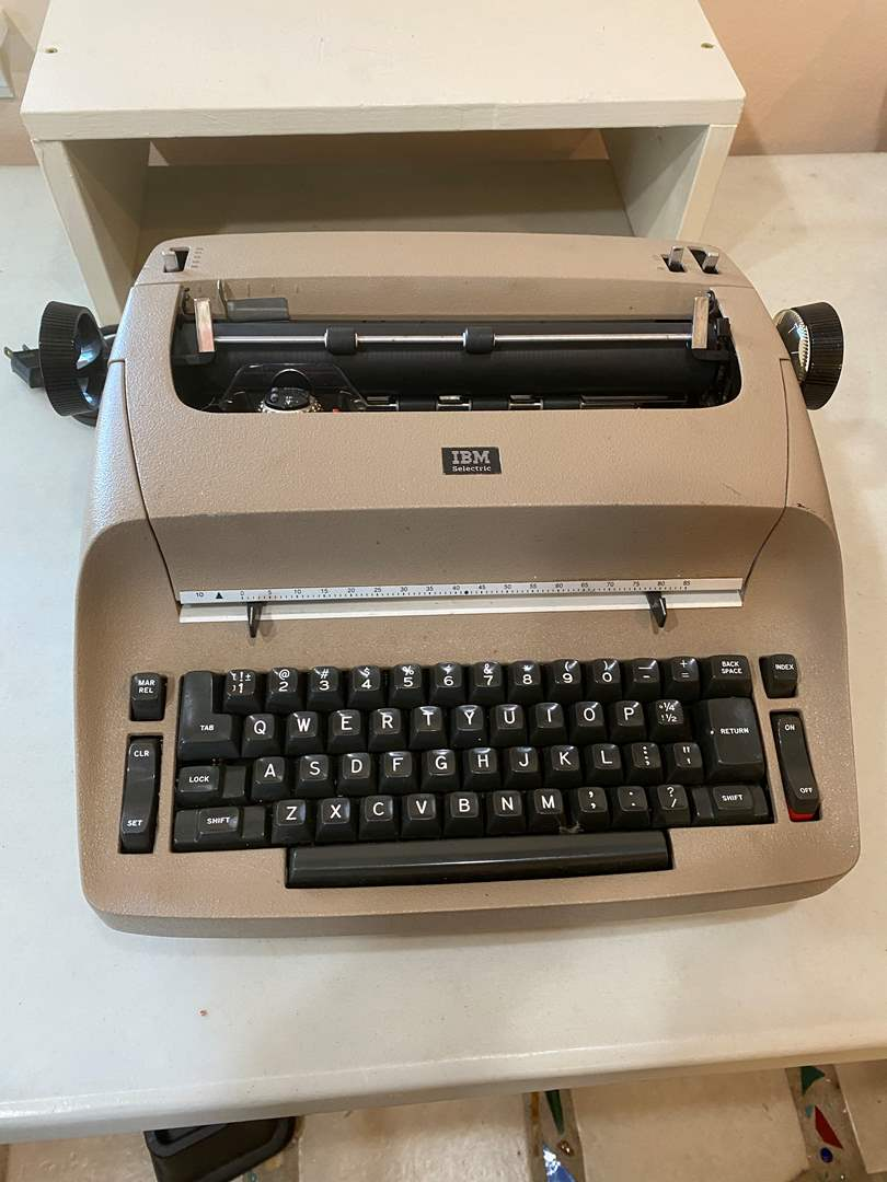 Lot # 119 - IBM Portable Typewriter  (main image)