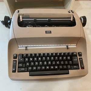 Auction Thumbnail for: Lot # 119 - IBM Portable Typewriter