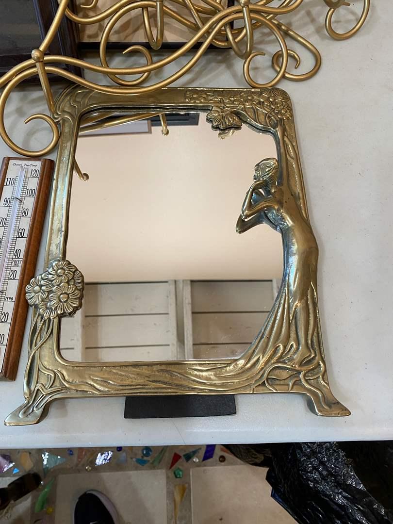 Lot # 133 - Signed Artwork, Frames, Stands & Mirror (main image)