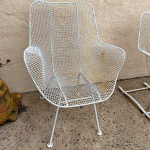 Auction Thumbnail for: Lot # 173 - Woodard Sculptura Occasional Chair Mid Century Modern