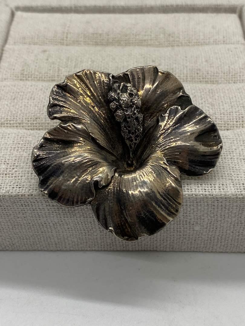 Lot # 27 - Guglielmo Cini Sterling Silver Pin (23.6g) (main image)