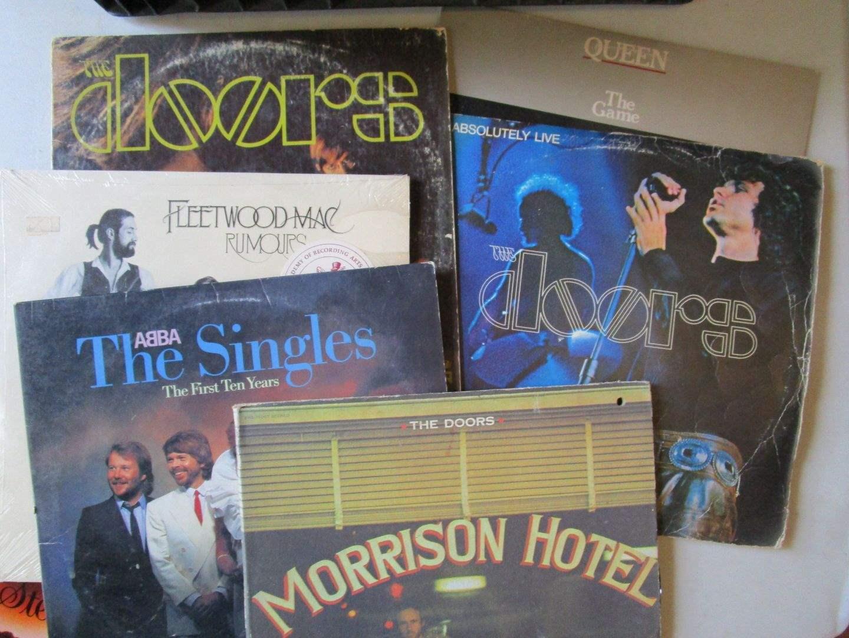 Lot # 84 - Vintage Vinyl - DOORS, DOORS, DOORS! (main image)