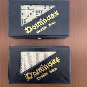 Lot# 9-Vintage Double Nine Dominoes Set