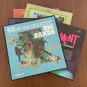 Lot# 13-Vintage Vinyl Records