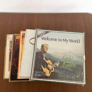 Lot# 14-Vintage Vinyl Records