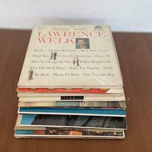 Lot# 15-Vintage Vinyl Records