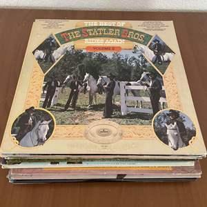 Lot# 17-Vintage Vinyl Records