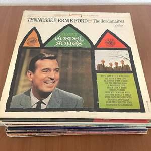 Lot# 18-Vintage Vinyl Records