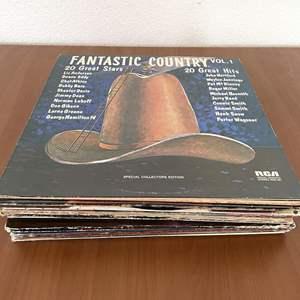 Lot# 23-Vintage Vinyl Records