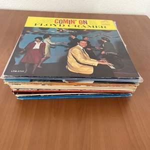 Lot# 26-Vintage Vinyl Records