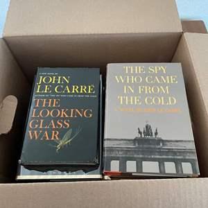 Lot# 50-John Le Carre Books