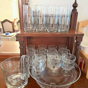 Lot# 69-Vintage Princess House Heritage Crystal Collection
