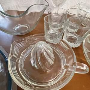Lot# 71-Glassware