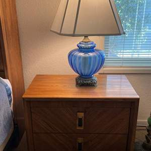 Lot# 100-Matching Night Stands (Lamps Not Included) (Matches Lot#99 & Lot# 102)