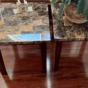 Lot# 119-End Tables (Matches Lot# 120)