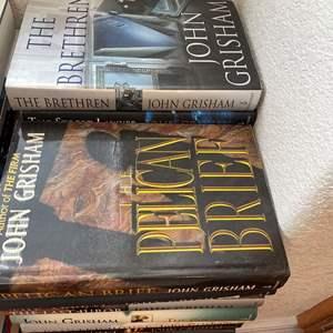 Lot# 124- John Grisham Hardcover Book Collection
