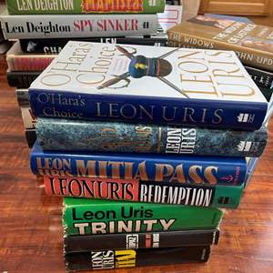Lot# 132- Assorted Hardcover Book Collection