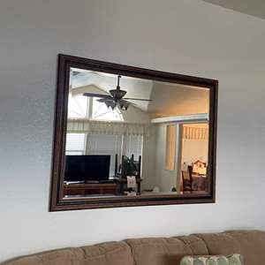 Lot# 139-Large Mirror
