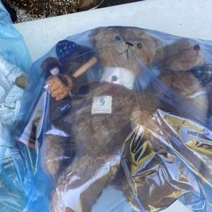 Lot # 8 - 2 Extra Large Totes of Collection of Steve Schutts Bears