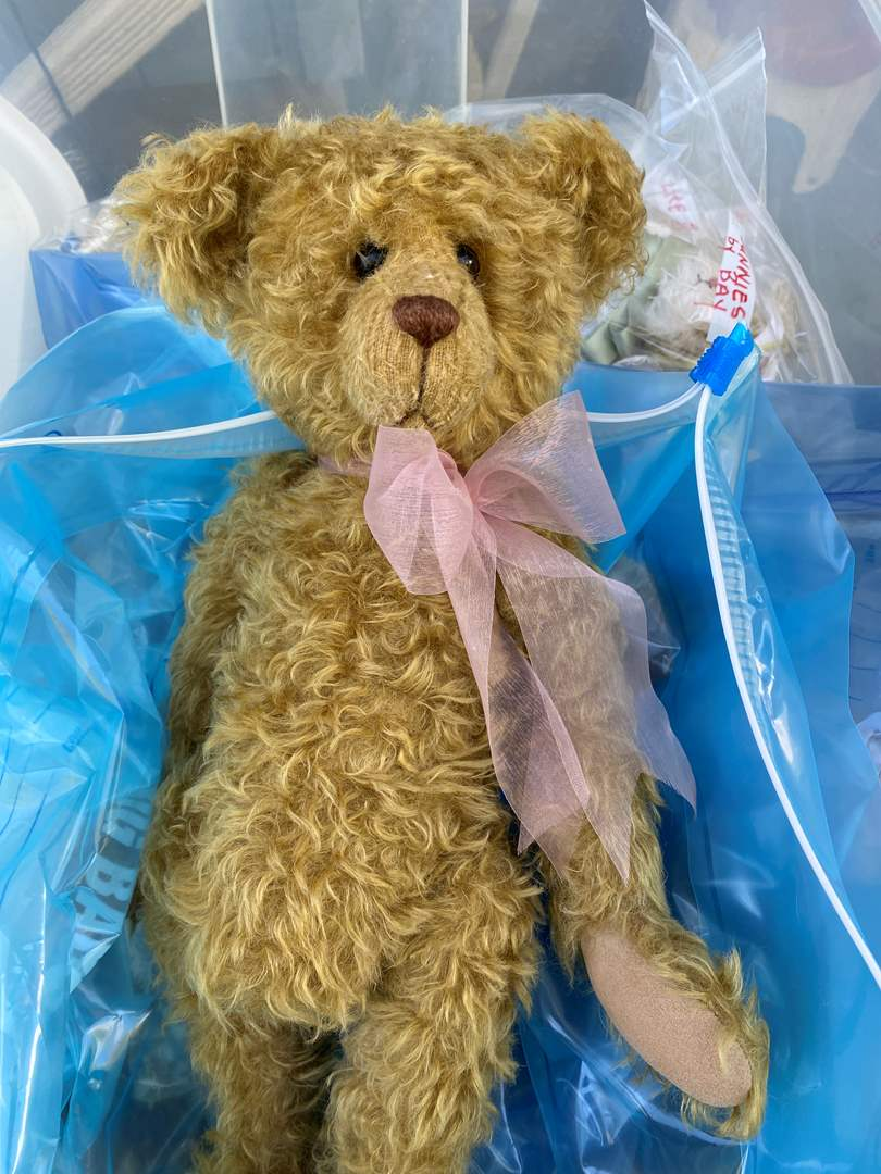 Lot # 16  - Extra Large Tote of Steiff, Harrods Bear and others (main image)