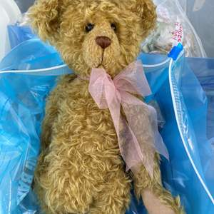 Lot # 16  - Extra Large Tote of Steiff, Harrods Bear and others