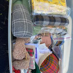 Lot # 18 - Extra Large Tote of Crafting Supplies