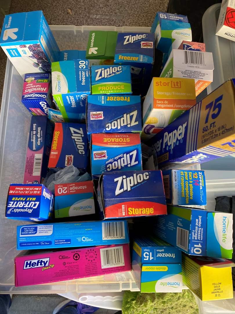 Lot # 19 - Kitchen Storage Supplies (main image)