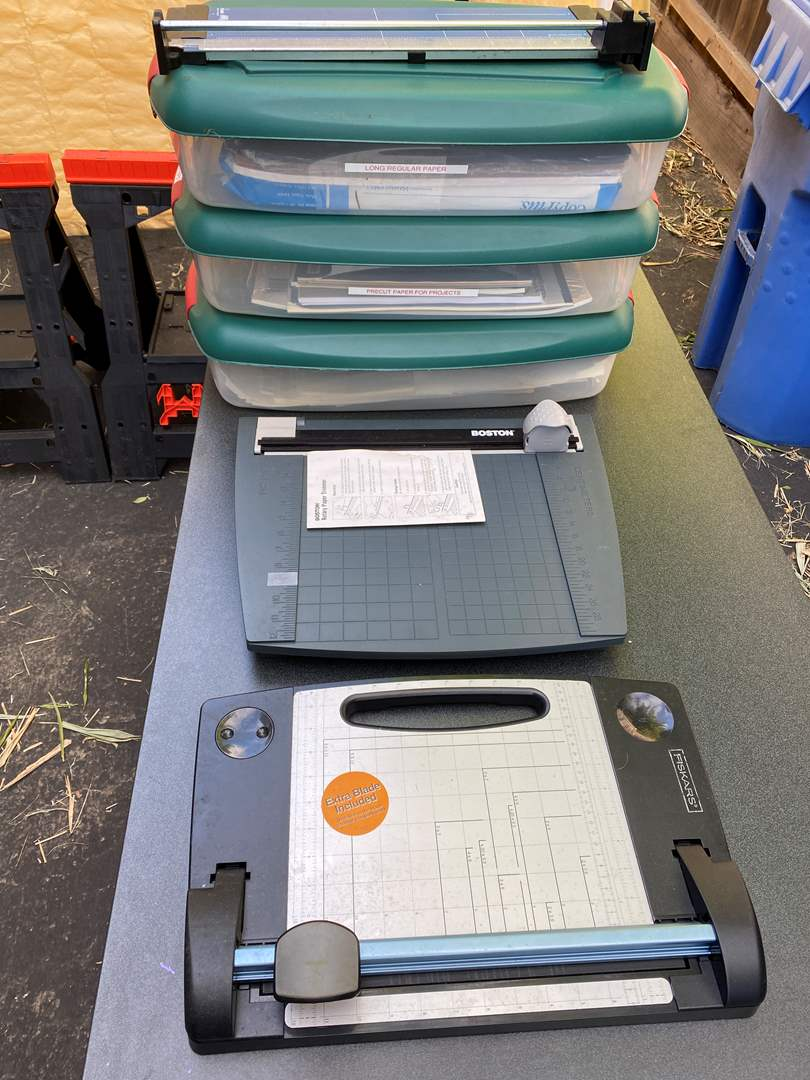 Lot # 21 - Paper Cutters & Speciality Papers (main image)