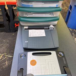 Lot # 21 - Paper Cutters & Speciality Papers