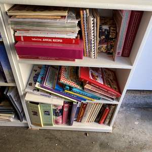 Lot # 26 - Book Shelf with Cook Books