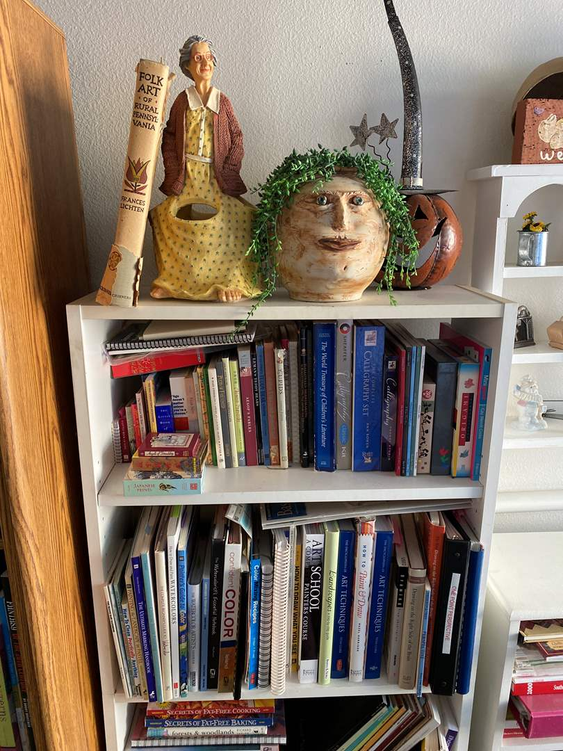 Lot # 27 - Book Case with Contents & Art Books (main image)