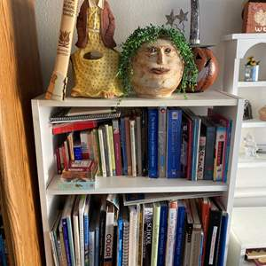 Lot # 27 - Book Case with Contents & Art Books
