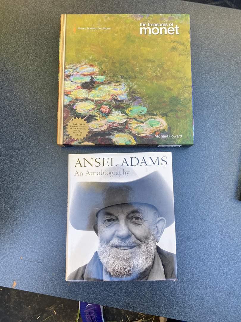 Lot # 29 - Monet & Ansel Adams Books (main image)