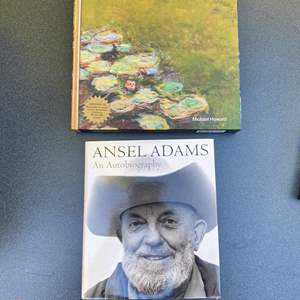 Lot # 29 - Monet & Ansel Adams Books
