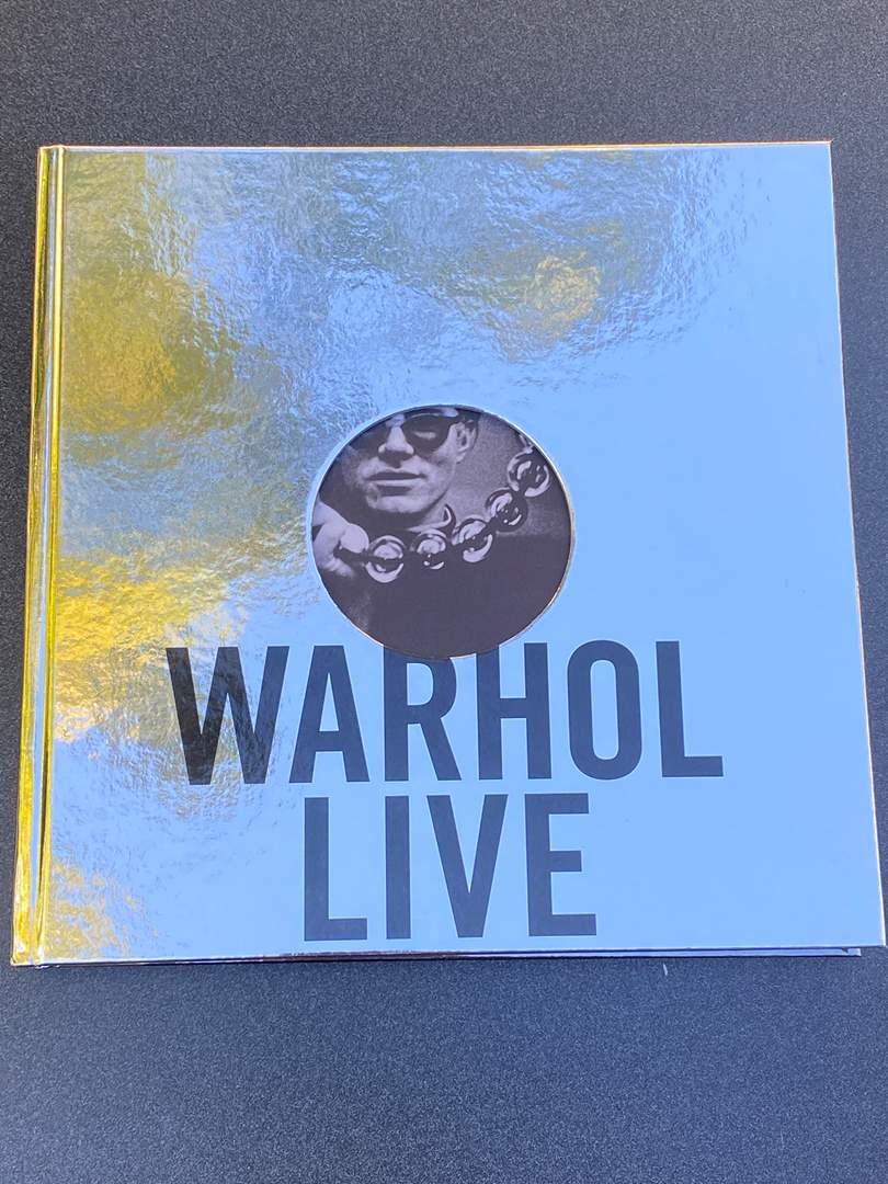 Lot # 30 - Warhol Live Coffee Table Book (main image)