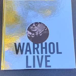 Lot # 30 - Warhol Live Coffee Table Book