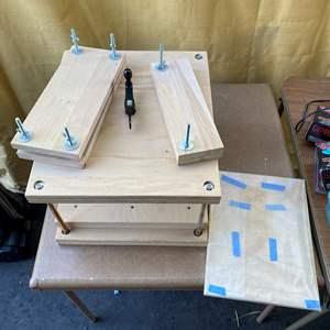 Lot # 38 - Wood block press