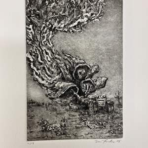 """Lot # 47 - """"Artist Proofs"""" Etchings Signed & Numbered - by various Artist - Exceptional Quality"""