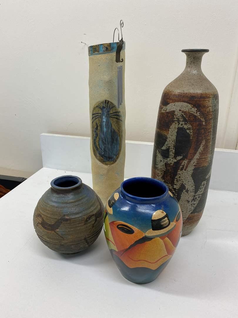 Lot # 51 - Art Vases (main image)