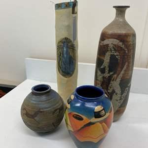 Lot # 51 - Art Vases