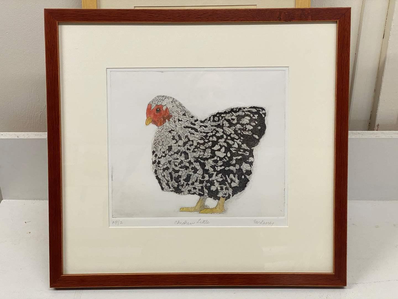Lot # 157 - Etching Signed & Framed Artist Proof (main image)