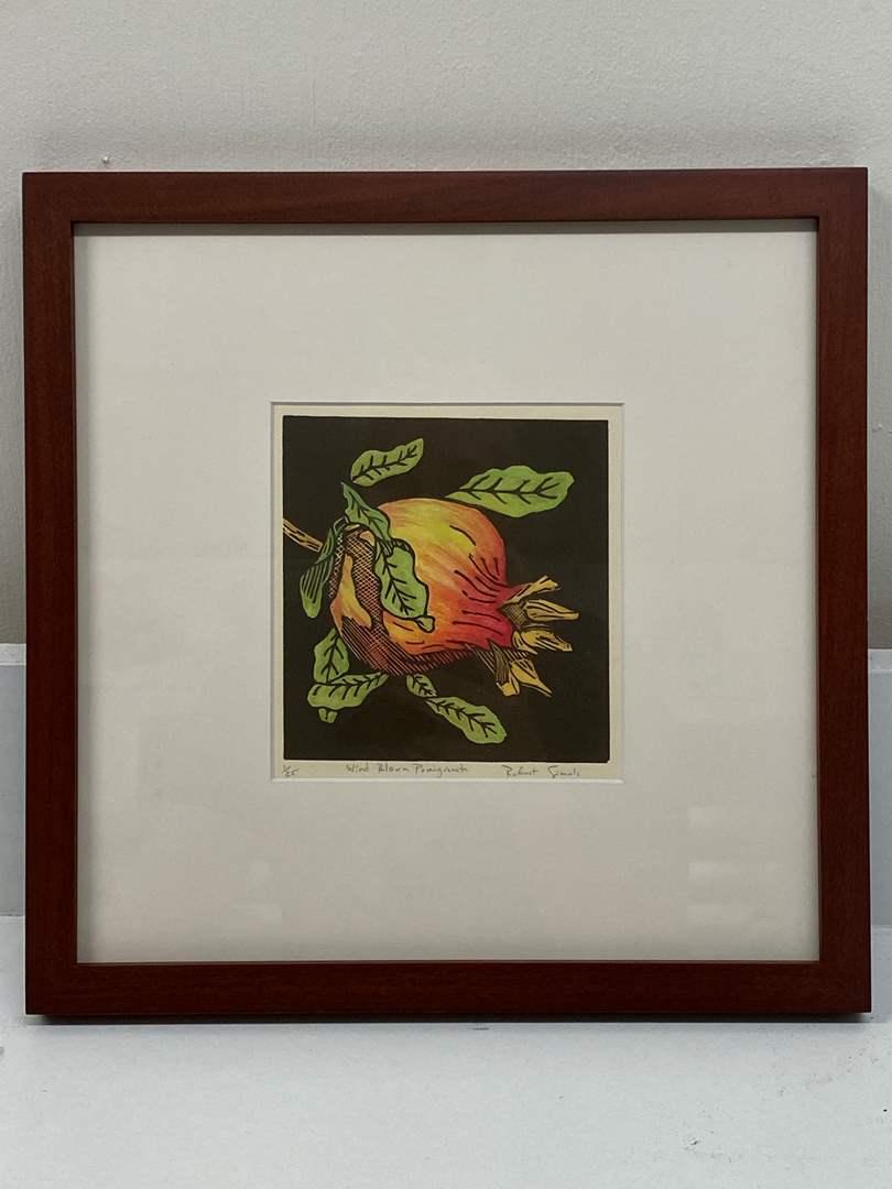 Lot # 163 - Etching Signed & Framed Artist Proof (main image)