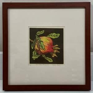Lot # 163 - Etching Signed & Framed Artist Proof